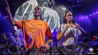 Cei doi DJ olandezi, Sunnery James & Ryan Marciano, la Neversea. FOTO Neversea