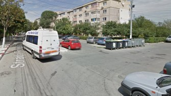 Strada Frunzelor este cu sens unic, dar intens circulată. FOTO Captură Google Street View