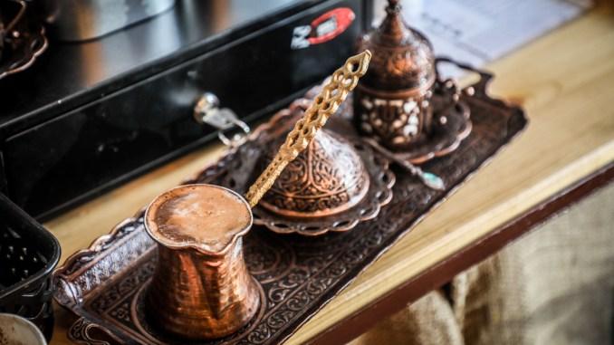 O cafea bună de la Caffe Corretto Constanța. FOTO Ștefan Ciocan