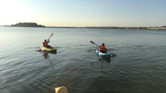 Juniorii din Ovidiu de la kaiac-canoe se pregătesc pentru marile competiții. FOTO CTnews.ro