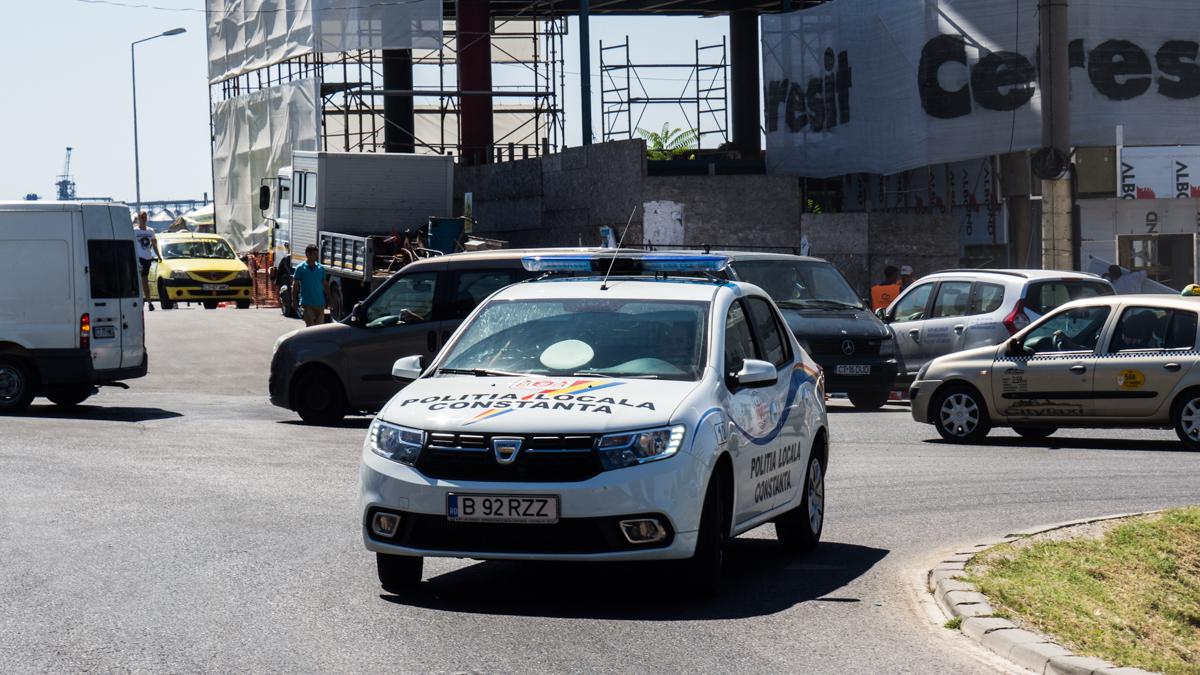 Masina Politia Locala Constanta