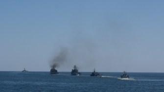 S-au făcut ultimele pregătiri pentru Ziua Marinei. FOTO Cătălin SCHIPOR