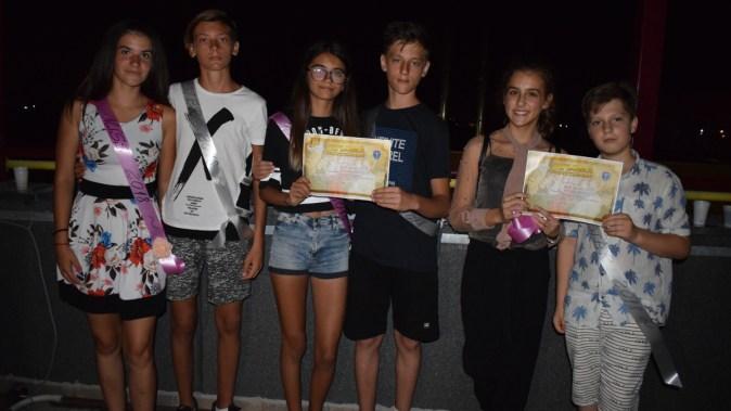 Copiii veniți în tabăra de la Cumpăna au avut parte de o ultimă seară deosebită. FOTO Primăria Cumpăna