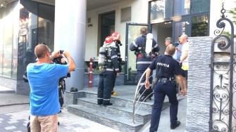 Pompierii au intervenit pentru a localiza și stinge incendiul. FOTO ISU Dobrogea