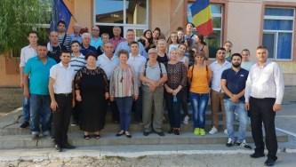 Oaspeții comunei Castelu au ajuns la destinație