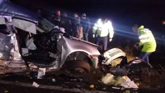Accident grav între Oituz și Sibioara. FOTO ISU Dobrogea Constanța