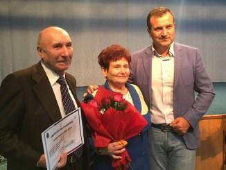 Seniorii Medgidiei, premiați de primarul Valentin Vrabie. FOTO CTnews.ro