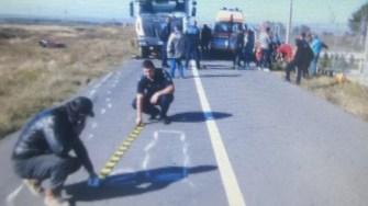 În urma impactului, motociclistul a decedat. FOTO IPJ Constanța