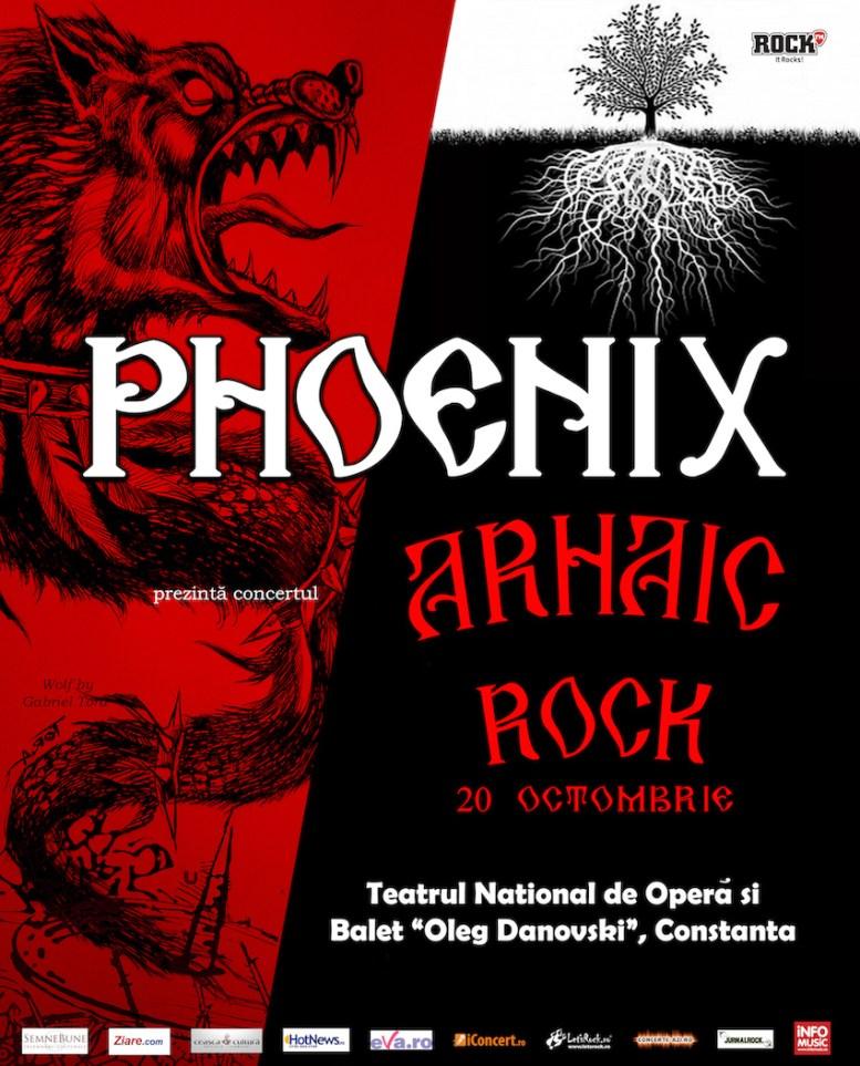 Afișul Arhaic Rock - Phoenix