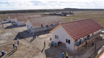 La Cumpăna au fost construite în cadrul proiectului Big Build, opt locuințe. FOTO Primăria Cumpăna