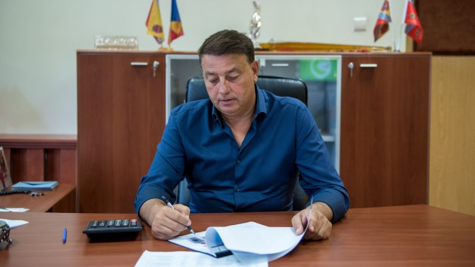 Florin Mitroi, primarul comunei Valu lui Traian. FOTO Primăria Valu lui Traian