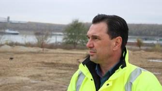 Primarul orașului Cernavodă, Liviu Negoiță FOTO Adrian Boioglu