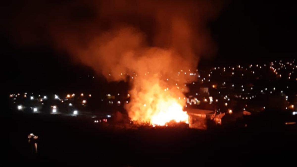 incendiu cernavoda