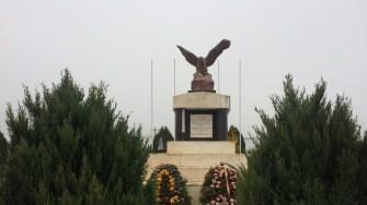 Mausoleul eroilor din comuna Mircea Vodă. FOTO CTnews.ro