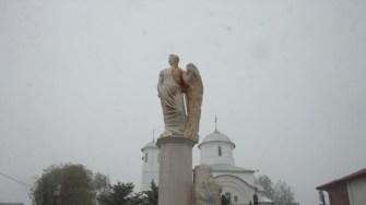 Grupul statuar Ovidiu din orașul Ovidiu. FOTO CTnews.ro