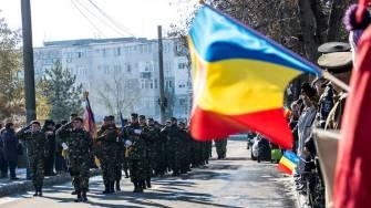 Ziua Națională a României, marcată la Medgidia. FOTO Facebook Valentin Vrabie