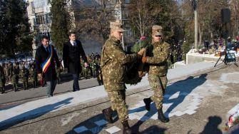 Valentin Vrabie la ceremonia de Ziua Națională. FOTO ARHIVĂ / Facebook Valentin Vrabie