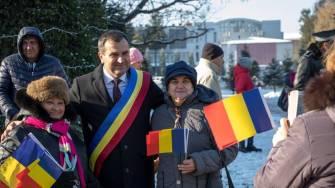 Valentin Vrabie la ceremonia de Ziua Națională. FOTO Facebook Valentin Vrabie