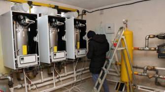Două blocuri ANL din Medgidia, racordate la gaze naturale. FOTO Primăria Medgidia