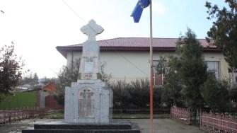 Monument în comuna Ostrov. FOTO CTnews.ro