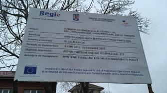 Investitie în comuna Poarta Albă. FOTO CTnews.ro
