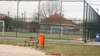 teren de sport în comuna Târgușor. FOTO CTnews.ro