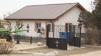Capela mortuară din comuna Târgușor. FOTO CTnews.ro