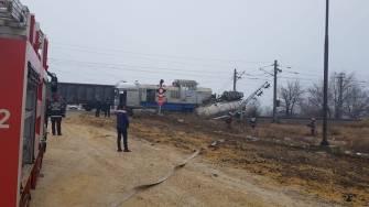 Accident feroviar în Dana 102 a Portului Constanța. FOTO IPJ Constanța