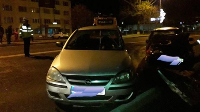 O manevră periculoasă care a dus la producerea unui accident rutier. FOTO Mangalia Te Iubesc