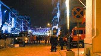 Forțele de ordine la petrecerea de revelion. FOTO Cătălin Schipor