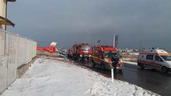 Echipajele medicale și ale ISU Dobrogea au intervenit la locul solicitării. FOTO CTnews.ro