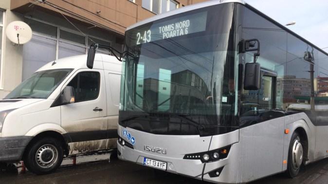 Noile autobuze RATC au intrat în funcțiune. FOTO Adrian Boioglu