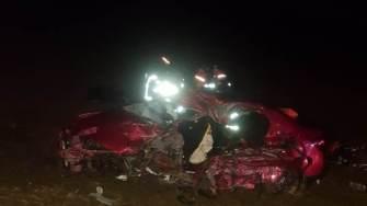 Accident rutier mortal pe DN 22. FOTO IPJ Constanța