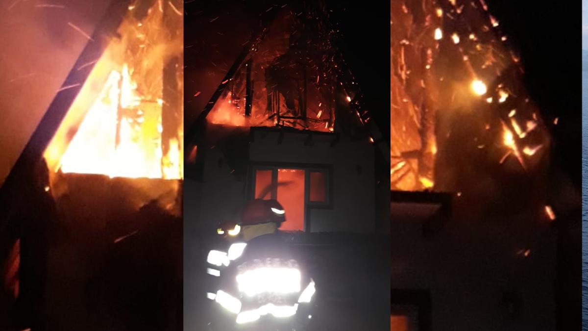 incendiu pompieri isu