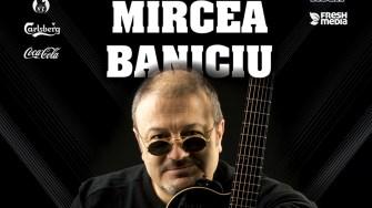 Afișul concertului susținut de Mircea Baniciu în Doors Club