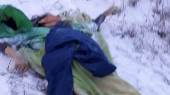 O femeie a fost găsită decedată pe malul Canalului, în Medgidia. FOTO Media Tv