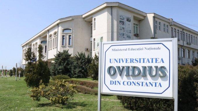Universitatea Ovidius Constanța. FOTO Arhiva UOC