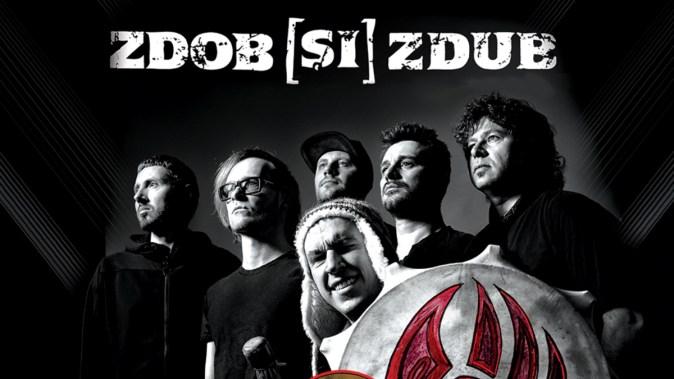 Afișul concertului susținut de Zdob și Zdub în Doors Club