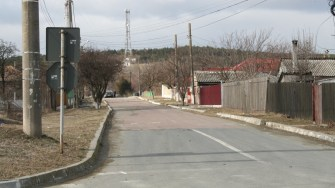 Stradă din Hârșova. FOTO Ctnews.ro