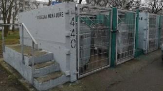Platformele de colectare a deşeurilor din oraș sunt împărțite pe 2 secțiuni: deșeuri reciclabile și deșeuri menajere. FOTO Primăria Constanța