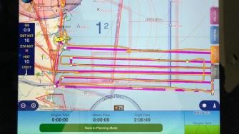 Elicopterul RAS Tuzla a zburat 2 ore 40 minute și a acoperit 50 NM pe mare. FOTO RAS Tuzla