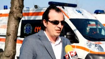 Bogdan Zidaru. managerul Spitalului Hârșova. FOTO Ctnews.ro