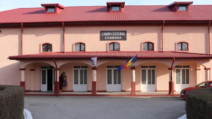 Căminul Cultural din comuna Cumpăna. FOTO Adrian Boioglu