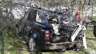 Accidentul rutier de la Săcele. FOTO IPJ Constanța