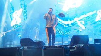 Smiley în concert la Festivalul Dapyx din Medgidia. FOTO Cătălin Schipor
