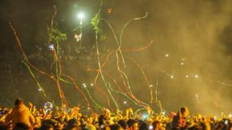 Focuri de artificii la Festivalul Dapyx din Medgidia. FOTO Cătălin Schipor