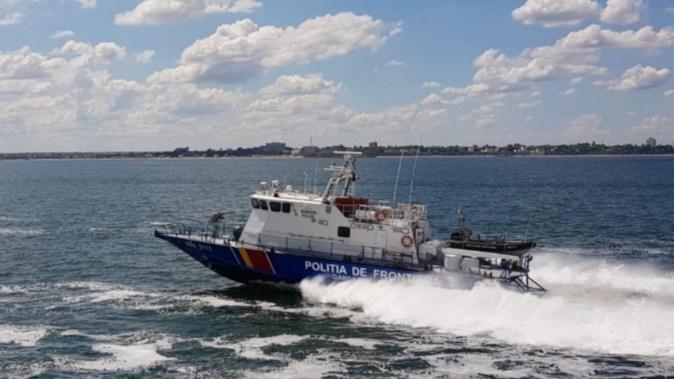Navele poliției de frontieră au intervenit. FOTO Poliția de Frontieră