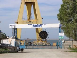 Șantierul Naval Damen Mangalia. FOTO Adrian Boioglu