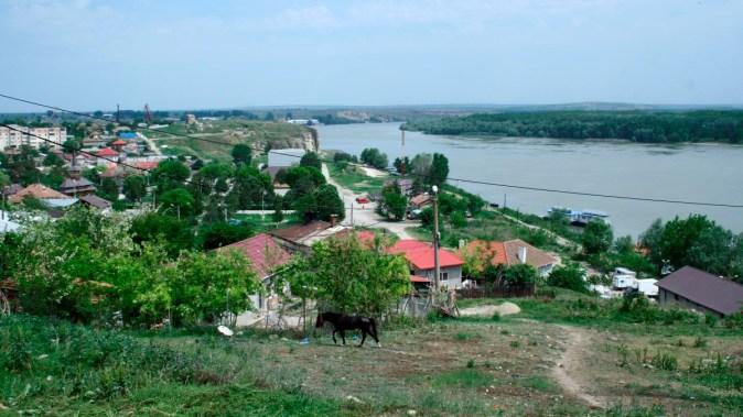 Zona de vest a orașului Hârșova. FOTO Ctnews.ro