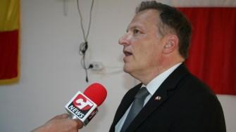 Ambasadorul Maltei la Bucureşti, Lino Bianco, la Ziua Comunei Horia. FOTO Ctnews.ro